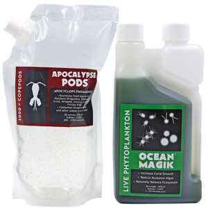 Apocalypse pods & OceanMagik Phytoplankton Combo pack 16oz