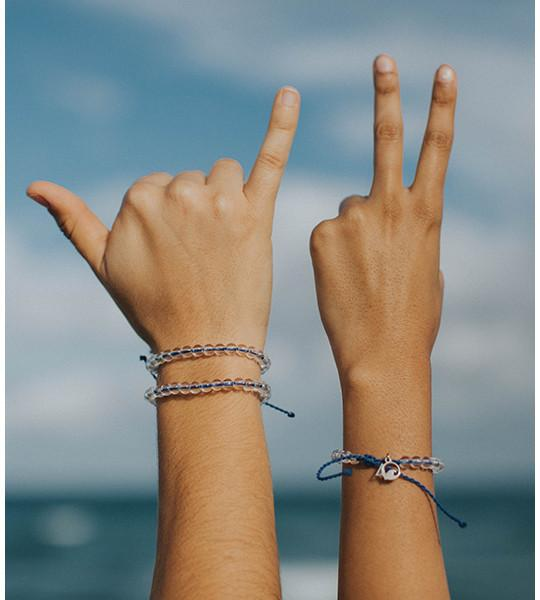 4Ocean Bracelet, each purchase removes 1lb of ocean plastic
