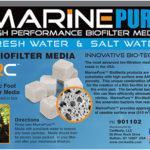 marine pure cubes ceramic biofilter media in box at algaebarn