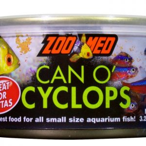 Zoomed Can-O-Cyclops - A great feed for captive bred mandarins