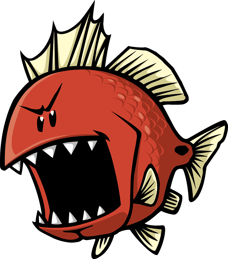 A very mean aggressive Fish!