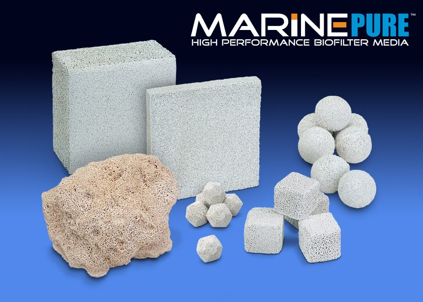 Marinepure Ceramic Biomedia